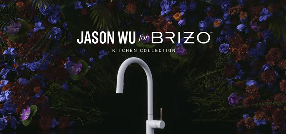Introducing the Jason Wu for Brizo Kitchen Collection