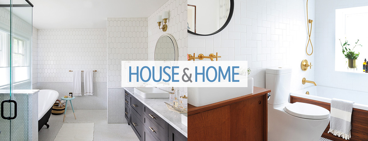 House and Home - Lynda Reeves Bathroom Remodel