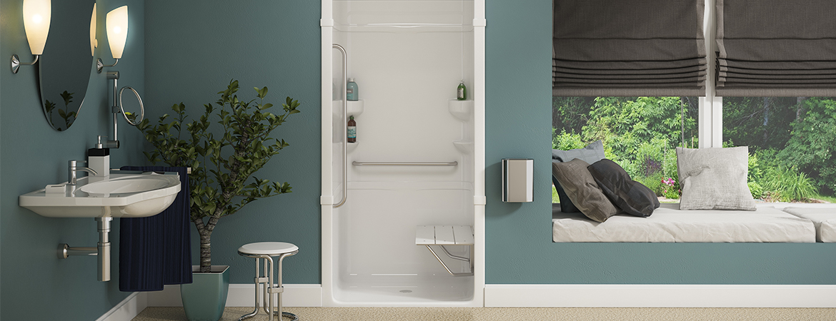 Mirolin Free Living Shower Bench at the Ensuite Bath and Kitchen Showroom