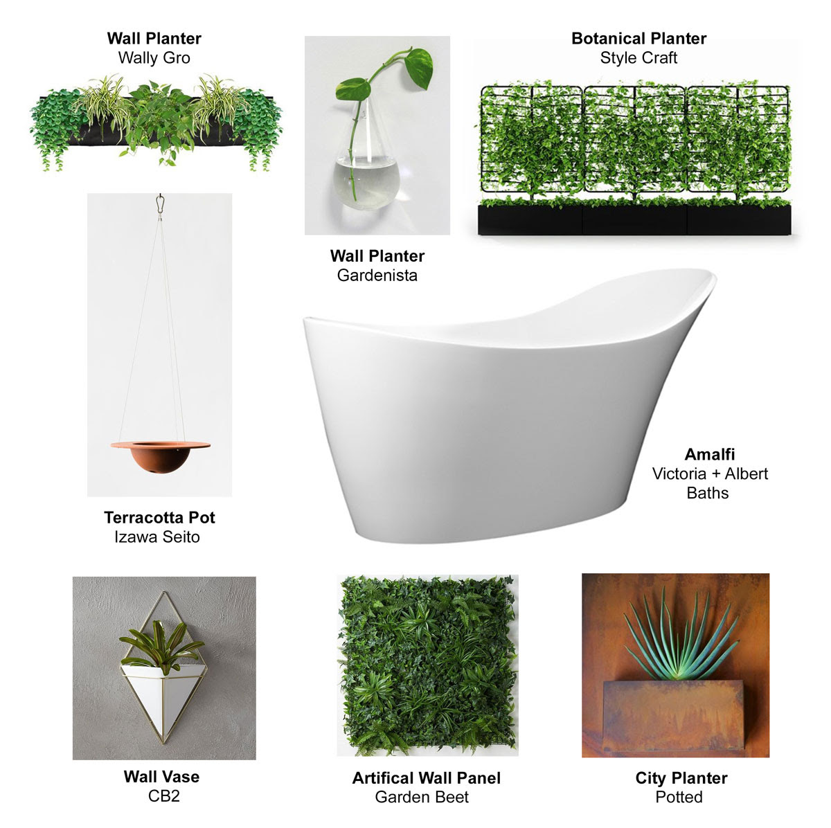 victoria+albert the living wall options
